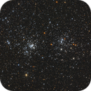 Double Cluster,                                Anzhou He