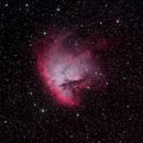 Pacman Nebula - NGC 281,                                DeepSkyView