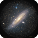 M31 Andromeda Galaxy,                                minoSpace