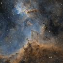 Heart Nebula IC 1805 (78 hours of integration),                                Nathan Morgan (TheAstroNate)