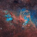NGC3576 - The Statue of Liberty Nebula,                                Tim Hutchison
