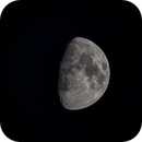 Moon with 1400mm and EOS 6D, 27.05.2015,                                xb39