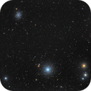 Messier 53 with NGC 5053,                                Miles Zhou