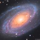 Messier 81 - LRGB,                                Teagan Grable
