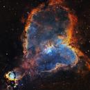 The Heart Nebula,                                AstroIska