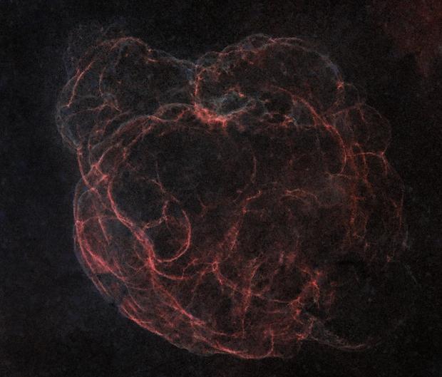 Simeis 147, Sh2-240 starless,                                Alfred Leitgeb