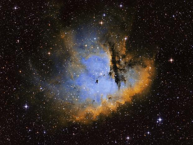 NGC 281 - Pacman Nebula in SHO,                                Chris Massa