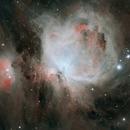 M42 in narrow band,                                bruciesheroes