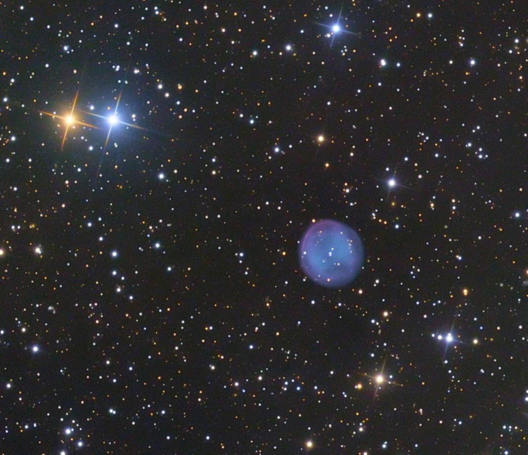 Southern Owl planetary nebula,                                Geoff