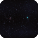 Comète lulin et M44,                                JY