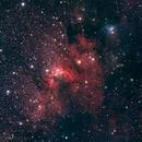 SH2-155  The Cave Nebula,                                Jerry Huang