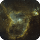 IC1805 Wide Field Bicolor,                                mikefulb