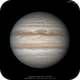 Jupiter's North Equatorial Belt in Chaos,                                Chappel Astro