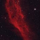 California Nebula in HaRGB - Reprocessed Using PixInsight,                                Kurt Zeppetello