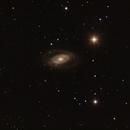 NGC 1350 Eye shaped galaxy in Eridanus - rarely imaged,                                Freestar8n