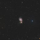 Galaxy M51 and neighbourhood,                                Gobart