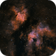 IC1318, the Gamma Cygni Nebula in SHO,                                riot1013