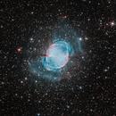 M27, the Dumbbell Nebula,                                Scotty Bishop