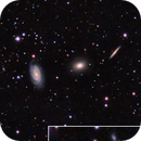 NGC 5985, 5982, 5981 (Draco Triplet) & Vicinity in LRGB,                                Ben Koltenbah