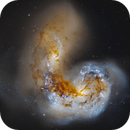 NGC4038/4039 The Antennae Galaxies ,                                Frank Iwaszkiewicz