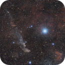 Witch Head Nebula and the Star Rigel,                                Gideon Golan