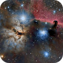 Flame and Horsehead Nebulae,                                StarChaser1955
