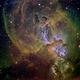 NGC3582, Statue of Liberty Nebula Close-up,                                John Ebersole