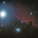 Flame Nebula, Alnitak, NGC 2023 and Horsehead Nebula,                                Tiago Ramires Domezi