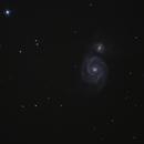 Whirlpool Galaxy,                                Keith Hanssen