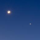 Moon and Venus - Jan 2020,                                Donnie B.