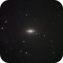 Sombrero Galaxy M104,                                DavidClarkAstrophotography