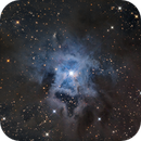 Iris Nebula close-up (NGC7023) in LRGB,                                Jose Carballada
