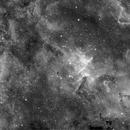 The heart of the heart nebula (IC1805),                                Alessandro Bianconi