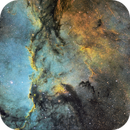 Fighting Dragons (NGC6188) in SHO with special guest star appearance by PK 336-0.1,                                robonrome