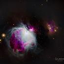 M42 La grande nébuleuse d'Orion en SHO,                                JLastro