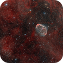 NGC6888  The Crescent Nebula,                                Alberto Pisabarro