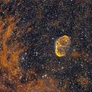 Sh2-105 ou NGC 6888,                                João Gabriel Fonseca Porto