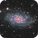 """Humans ! , happy new year from NGC 2403"",                                carl0s"