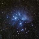 Messier 45 - Pleiades,                                Valerio Tettamanti