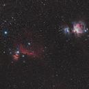 M78 - Horse head - Orion,                                U-ranus