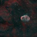 NGC 6888 - Crescent Nebula in HOO,                                Michael J. Mangieri