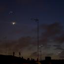 Moon, Saturn, Venus and Jupiter conjunction 29/11/2019,                                Lujafer