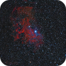 IC405 - The Flaming star,                                Marco Favro