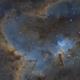 Full Moon Heart-  QHY9 First Light Test,                                Chris R White