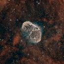 NGC 6888 Bi-color,                                Mike Wiles