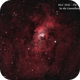 NGC 7635 - The Bubble Nebula HOO,                                Paul Borchardt