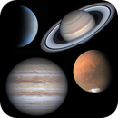4 planets on one day of extraordinary seeing - 31st July 2020,                                Niall MacNeill