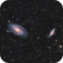 M81 & M82 - Bode's Galaxy & The Cigar Galaxy,                                Almos Balasi