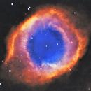 Helix Nebula HST,                                Carlos Casaldeiro