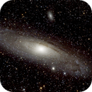 Andromeda galaxy with DSLR and Skywatcher 114/450 Newton,                                Doc_HighCo